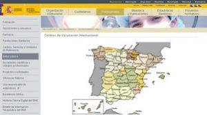 Centros de Vacunacion Internacional España