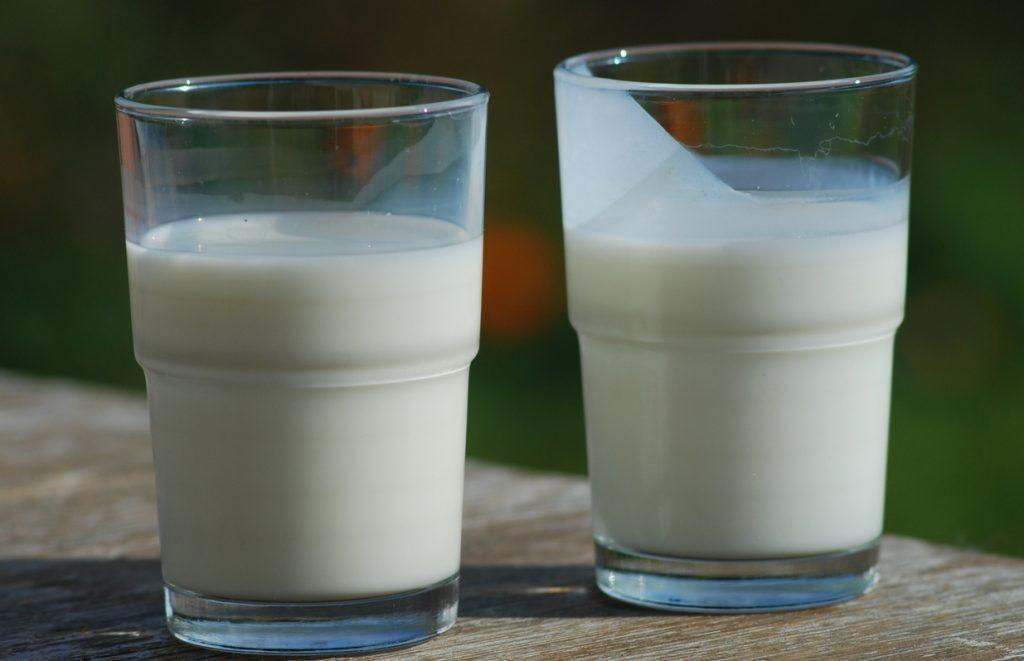 vasos de leche