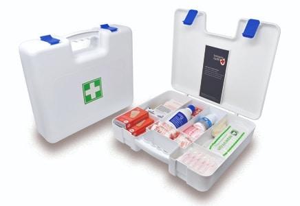 maletín de primeros auxilios sans blanco